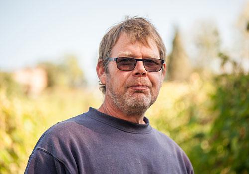 portrait Christian Zeller vigneron d'Ariège, Domaine de Lastronques