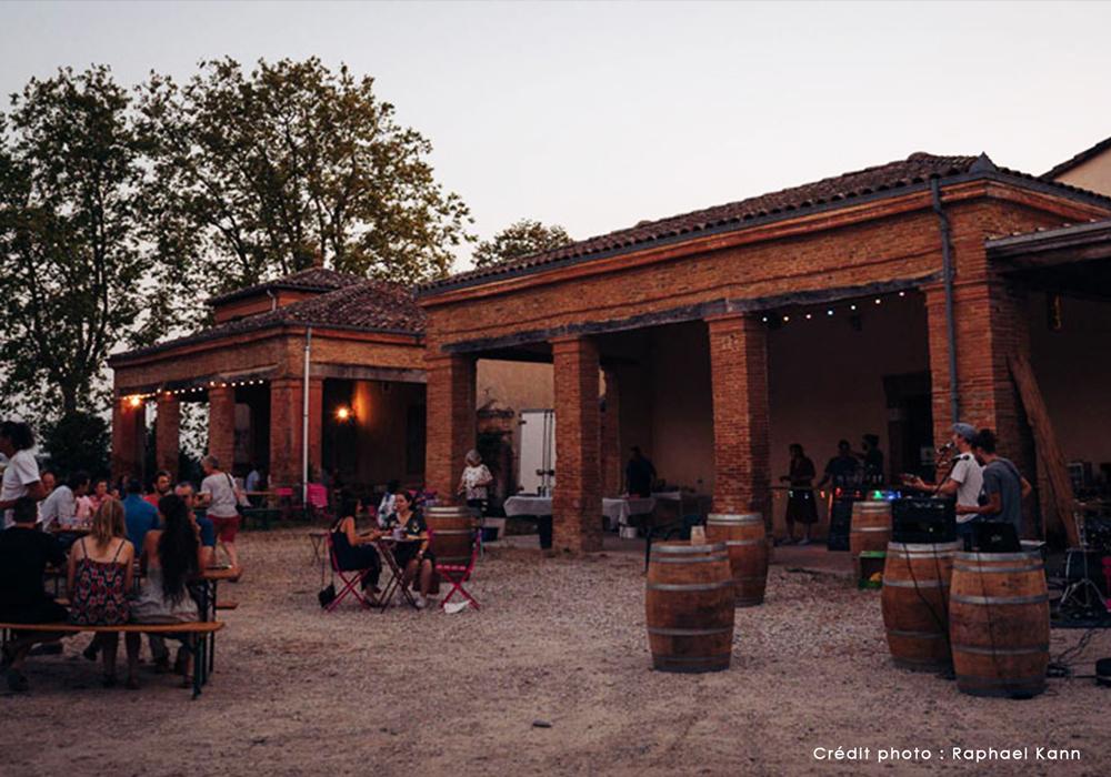 Guinguettes du Domaine de Lastronques, soirée animé avec concert à Lézat sur Lèze